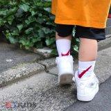 【NIKE】BIGスウッシュ 3カラー 靴下3足セット 2サイズ (10-18cm) RD/WH/BK