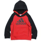 <img class='new_mark_img1' src='//img.shop-pro.jp/img/new/icons20.gif' style='border:none;display:inline;margin:0px;padding:0px;width:auto;' />20%OFF【adidas】パフォーマンスロゴ ラグランパーカー (85-110cm) RD
