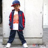 <img class='new_mark_img1' src='//img.shop-pro.jp/img/new/icons24.gif' style='border:none;display:inline;margin:0px;padding:0px;width:auto;' />【NIKE】 2トーン ジャージセットアップ (96-104cm) NV/RD