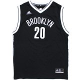 【adidas】BROOKLYN NETS ゲームシャツ (150-170cm) BK