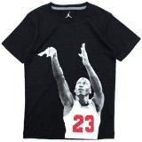 【JORDAN】MJシュートフォトTシャツ (128-170cm) BK