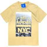 <img class='new_mark_img1' src='//img.shop-pro.jp/img/new/icons20.gif' style='border:none;display:inline;margin:0px;padding:0px;width:auto;' />20%OFF【adidas Originals】NYC マンハッタンフォト Tシャツ (120-140cm) BE