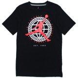 【JORDAN】サークルエンブレム Tシャツ (128-170cm) BK