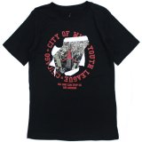 【JORDAN】CHICAGO CITYフォト Tシャツ (128-170cm) BK