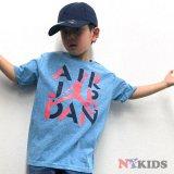 【JORDAN】ステンシルロゴ グラフィックTシャツ (96-122cm) HBL