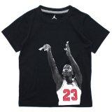 【JORDAN】MJシュートフォトTシャツ (96-122cm) BK