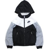 <img class='new_mark_img1' src='https://img.shop-pro.jp/img/new/icons21.gif' style='border:none;display:inline;margin:0px;padding:0px;width:auto;' />40%OFF【NIKE】リップストップ ウインドブレーカー (85-122cm) WH/BK
