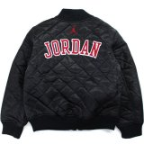 【JORDAN】アーチロゴ 中綿キルティング ジャケット (128-170cm) BK