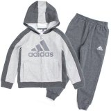 <img class='new_mark_img1' src='//img.shop-pro.jp/img/new/icons20.gif' style='border:none;display:inline;margin:0px;padding:0px;width:auto;' />30%OFF【adidas】パフォーマンス フーディーセットアップ (80-120cm)  GY/GY