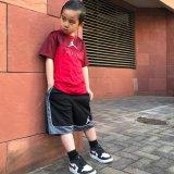 【JORDAN】AJ3 DRI-FIT 切返しTシャツ (128-170cm) RD