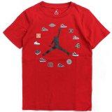 【JORDAN】AIR JORDANクロック Tシャツ (128-170cm) RD