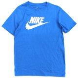 【NIKE】フューチュラロゴ Tシャツ (128-170cm) BL