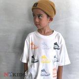 【Timberland】 6inchプレミアムブーツ Tシャツ (130-160cm) WH