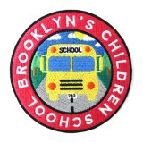 【212.MAG】BROOKLYN'S CHILDREN SCHOOL ワッペン (直径 約8cm)