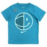 【NIKE】ハーフスマイル バスケットボール 半袖Tシャツ (96-122cm) TQ