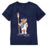 【RALPH LAUREN】 ポロベア半袖Tシャツ (120-130cm) NV