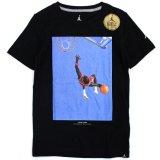 【JORDAN】ジョーダンフォトプリント Tシャツ (128-170cm) BK