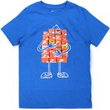 【NIKE】スニーカーBOXマン Tシャツ (128-170cm) BL