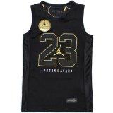 【JORDAN】 JORDAN×ASAHD ゲームシャツ (128-158cm) BK/GD
