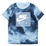 【NIKE】クラウド柄 BOXフューチュラ Tシャツ (96-122cm) SBL