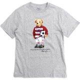 【RALPH LAUREN】 ラガーPOLOベア 半袖Tシャツ (130-150cm) GY