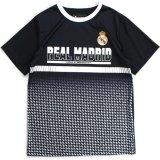 【REAL MADRID】 オフィシャル  サッカーシャツ (130-160cm) BK