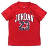 【JORDAN】DRI-FIT アーチロゴ #23 Tシャツ (96-122cm) RD