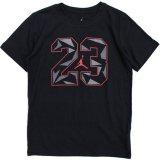 【JORDAN】#23エレファント柄 Tシャツ  (128-170cm) BK