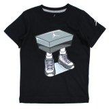 【JORDAN】AJ9スニーカーBOXマン Tシャツ (96-122cm) BK