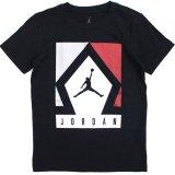 【JORDAN】ジャンプマン ダイヤBOX  Tシャツ (128-170cm) BK/RD