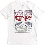 【JORDAN】4ロゴMIX ジャンプマン Tシャツ (128-170cm) WH