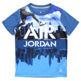 【JORDAN】AJ5マンハッタンフォトプリント 半袖Tシャツ (96-122cm) BL