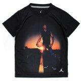 【JORDAN】AJ1ロイヤルMJ フォトプリント 半袖Tシャツ (96-122cm) BK