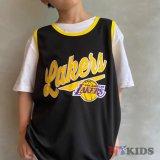 【UNK】レイカーズ #23 ゲームシャツ (130-160cm) BL/YL