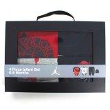 【JORDAN】BOX付き ベビー4点セット (60-70cm) RD/GY