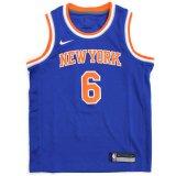 【NIKE】NYニックス #6 PORZINGIS ゲームシャツ (128-170cm) BL