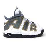 <img class='new_mark_img1' src='https://img.shop-pro.jp/img/new/icons5.gif' style='border:none;display:inline;margin:0px;padding:0px;width:auto;' />【NIKE】AIR MORE UPTEMPO (TDサイズ 12-16cm) WH/SN