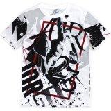 【JORDAN】総柄ジョーダンフォトプリント Tシャツ (128-170cm) WH