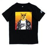 【NIKE】フューチュラ アニマル 半袖Tシャツ  (96-122cm) BK