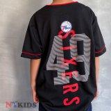 【UNK】76ers ゲームシャツ (130-160cm) BK