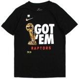 【NIKE】GOT'EM RAPTORS  Tシャツ (128-170cm) BK