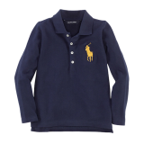 <img class='new_mark_img1' src='//img.shop-pro.jp/img/new/icons20.gif' style='border:none;display:inline;margin:0px;padding:0px;width:auto;' />30%OFF【RALPH LAUREN】ビックポニー長袖ポロシャツ (100cm) NV