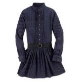 <img class='new_mark_img1' src='//img.shop-pro.jp/img/new/icons20.gif' style='border:none;display:inline;margin:0px;padding:0px;width:auto;' />30%OFF【RALPH LAUREN】タータンチェックワンピース(120-130cm)NV/PU