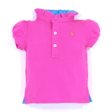 <img class='new_mark_img1' src='//img.shop-pro.jp/img/new/icons20.gif' style='border:none;display:inline;margin:0px;padding:0px;width:auto;' />40%OFF【RALPH LAUREN】フリル襟ポロシャツ (70cm) RS