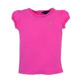 【RALPH LAUREN】ワンポイントポニーリンディーTシャツ  (70cm) PK