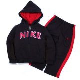 <img class='new_mark_img1' src='//img.shop-pro.jp/img/new/icons24.gif' style='border:none;display:inline;margin:0px;padding:0px;width:auto;' />30%OFF【NIKE】 パーカー・パンツ 2点セット (80cm) BK/RD