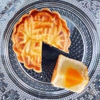 《8月23日発送》バラ売り『甜蜜蜜オリジナル月餅(ハスの実あん)』