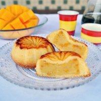 《8月23日発送》バラ売り『8月の甜蜜蜜オリジナル月餅(マンゴーカスタードあん)』