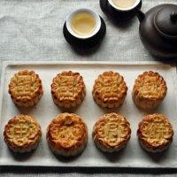 《9月11日発送》中秋節『甜蜜蜜オリジナル月餅と中国茶のセット』