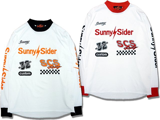 16SCS-SS-RACING LONG TEE (BBB)